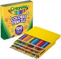 CRAYOLA 100ct COLORED PENCILS