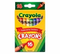 CRAYOLA 16CT  CRAYONS