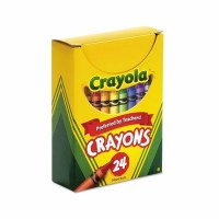 CRAYOLA 24 BOXED     CRAYONS