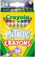 CRAYOLA 24CT CRAYONS METALLIC