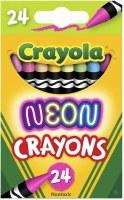 CRAYOLA 24CT CRAYONS NEON