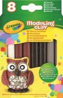 CRAYOLA  8CT MODELING CLAY NATURAL