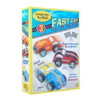 CREATIVITY FOR KIDS 3 FAST CARS TO PAINT