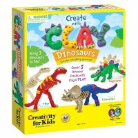 CREATIVITY FOR KIDS CLAY DINOSAURS