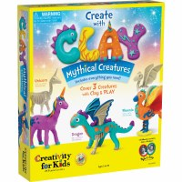 CREATIVITY FOR KIDS CLAY MYTHICAL