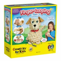 CREATIVITY FOR KIDS FINGER LOOPING PUPPY