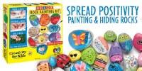 CREATIVITY FOR KIDS HIDE & SEEK ROCK KIT
