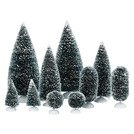D56  BAG-O-FROSTED TOPIARIES