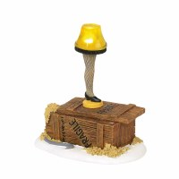 D56 CHRISTMAS STORY LIT LEG LAMP