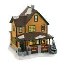 D56 CHRISTMAS STORY RALPHIE'S HOUSE