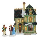 D56 DICKENS HOME FOR HOLIDAYS