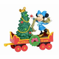 D56 DISNEY MICKEY'S HOLIDAY TREE CAR