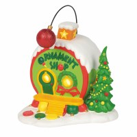 D56 GRINCH HOLIDAY WHO-VILLE ORNAMENT SH
