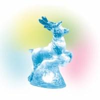 D56  LIT ICE CASTLE REINDEER
