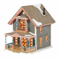 D56 NEW ENGLAND GINGERBREAD COTTAGE #1