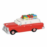 D56 SNOW VILLAGE FAMILY WAGON