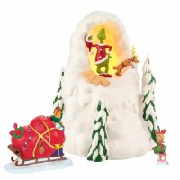 D56 THE GRINCH MT. CRUMPIT GIFTSET