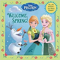 DISNEY FROZEN WELCOME SPRING BOOK