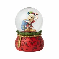 DISNEY TRAD SANTA MICKEY WATERBALL