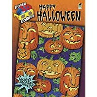 DOVER 3D COLORING   BOOK HALLOWEEN