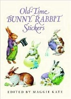 DOVER STICKER BOOK  BUNNY RABBITS