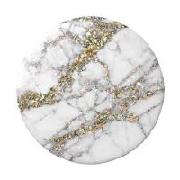 POP SOCKET GOLD SPARKLE MARBLE