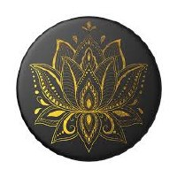 POP SOCKET GOLDEN PRANA BLACK
