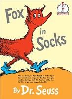 DR SEUSS BOOK FOX IN SOCKS