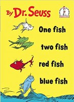DR SEUSS BOOK ONE FISH TWO FISH