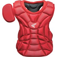 EASTON NATURAL CHEST PROT YTH  9-12 RED