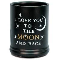 ELANZE ELECTRIC JAR WARMER LOVE YOU MOON