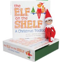 ELF ON THE SHELF BOY W/BOOK