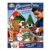 ELF ON THE SHELF CHRISTMAS CABIN PLAYSET
