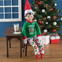 ELF ON THE SHELF DON'T BE NAUGHTY PJ'S