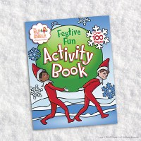 ELF ON THE SHELF FESTIVE FUN ACTIV BOOK