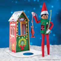 ELF ON THE SHELF FROSTED FISHING HUT