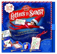 ELF ON THE SHELF LETTERS TO SANTA SCOUT
