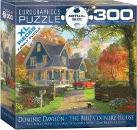 EUROGRAPHIC 300pc PUZZLE BLUE COUNTRY