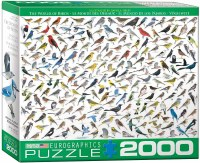 EUROGRAPHIC PUZZLE 2000PC BIRDS