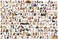 EUROGRAPHIC PUZZLE 2000PC DOGS