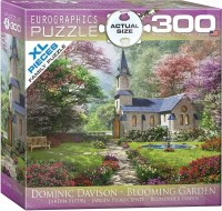 EUROGRAPHIC PUZZLE 300pc BLOOMING GARDEN