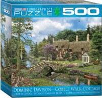 EUROGRAPHIC PUZZLE  500PC COBBLE WALK