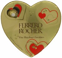 FERRERO ROCHER 4.4OZ HEART