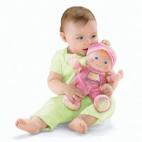 FISHER PRICE BABY'S FIRST DOLL PINK