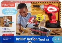 FISHER PRICE DRILLIN' ACTION TOOL