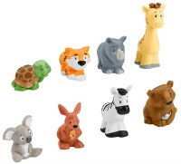 FISHER PRICE LITTLE PEOPLE ZOO ANIMALS