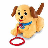 FISHER PRICE LITTLE SNOOPY PULL TOY