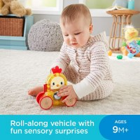 FISHER PRICE ROLLIN' SUJRPRISE ROOSTER