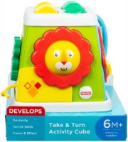 FISHER PRICE TAKE & TURN ACTIVITY CUBE
