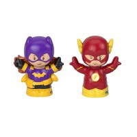 FP LITTLE PEOPLE BATGIRL & THE FLASH